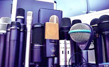 Microphone in Abu Dhabi