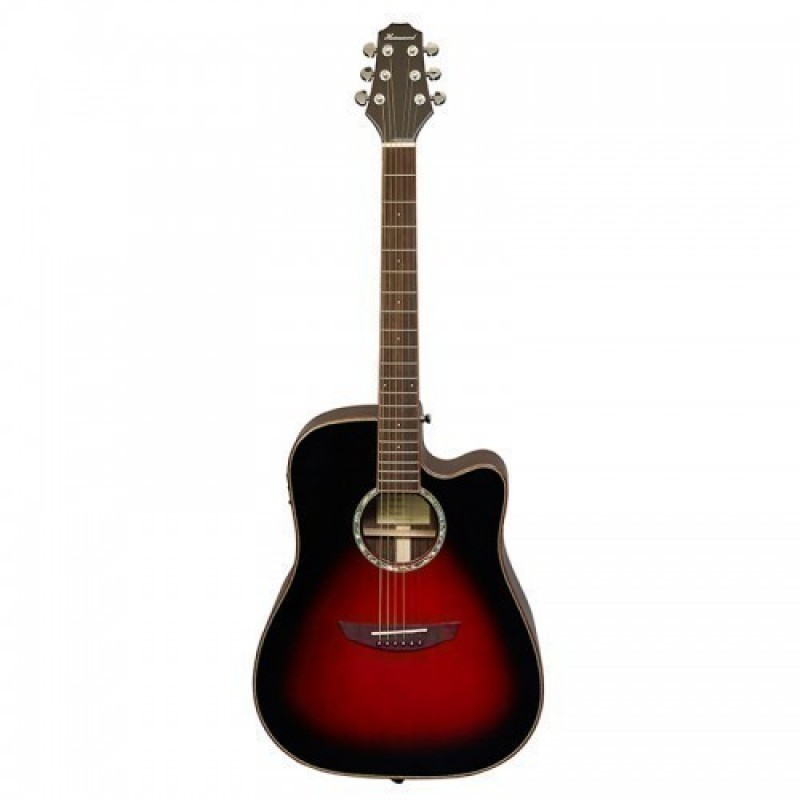 Haineswood Stage STD80CEVSB Dreadnought Cutaway Electro