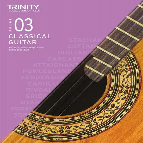Classical Guitar Exam Pieces 2020-2023: Grade 3