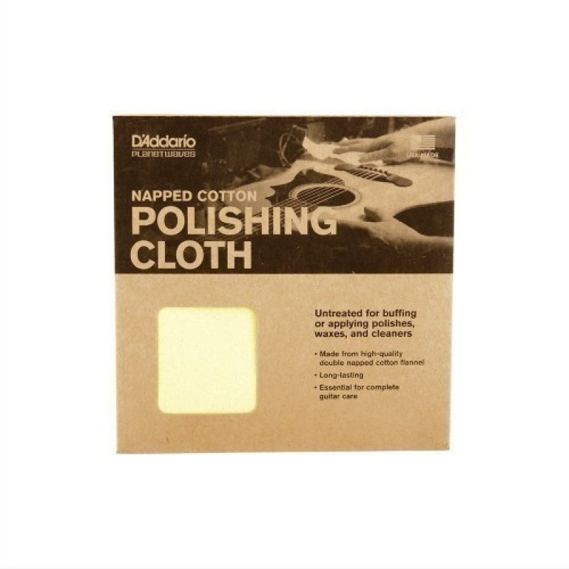 NAPPED COTTON POLISHING CLOTH For All Instruments, PWPC2