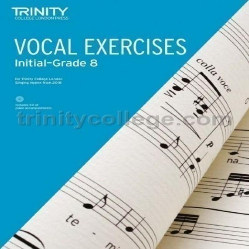Vocal Exercises 2018 Initial - Grade 8 (Book & CD)