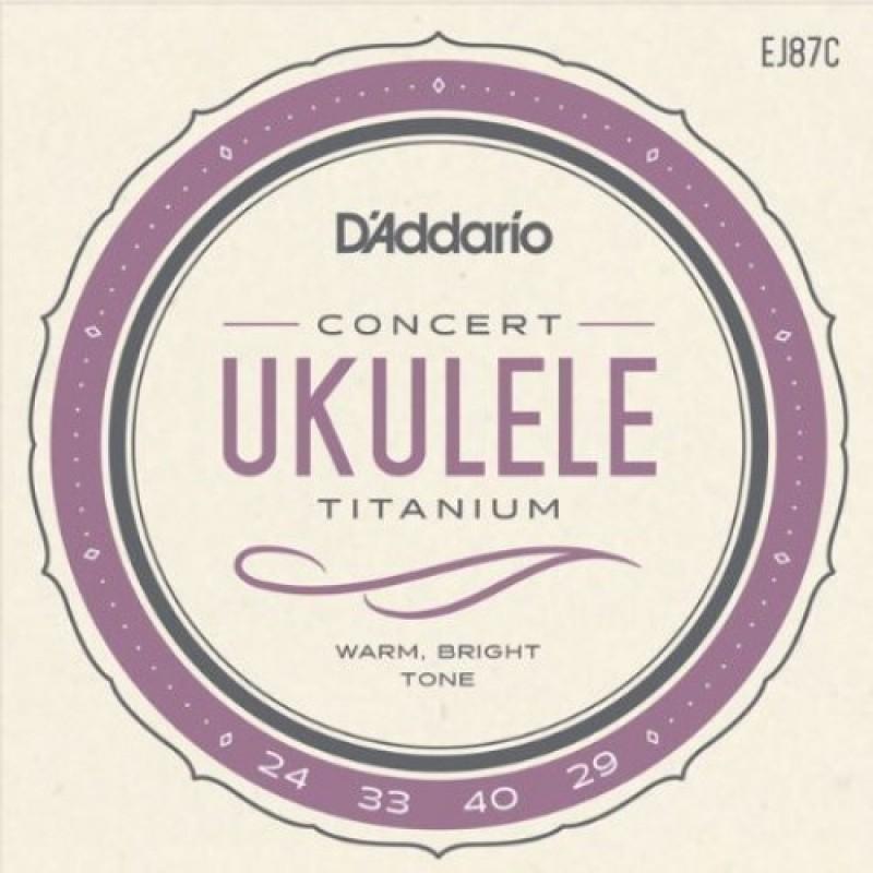 D'Addario EJ87C Ukulele string set, Concert