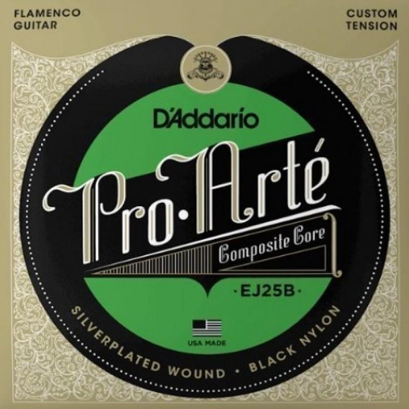 D'Addario EJ25B Classical Guitar String Set, Flamenco Tension