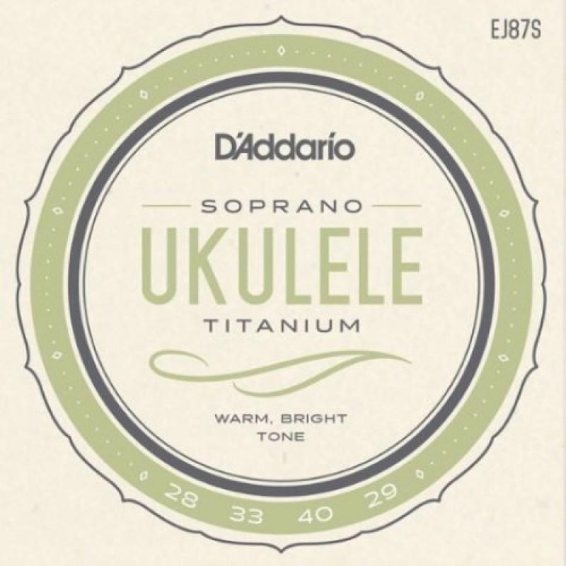 D'Addario EJ87S Ukulele string set, Soprano