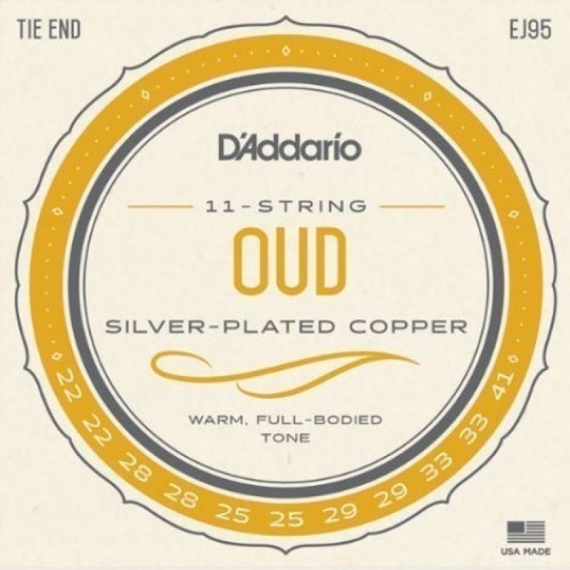 D'Addario EJ95 Oud string set, Normal Tension