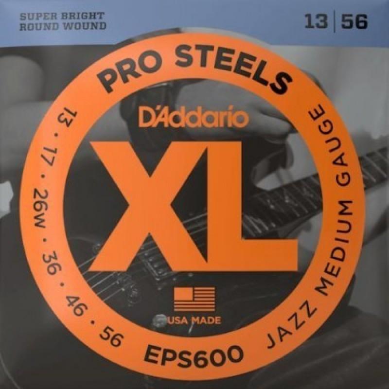 D'Addario EPS600 Electric Guitar String Set, Jazz Medium Gauge.