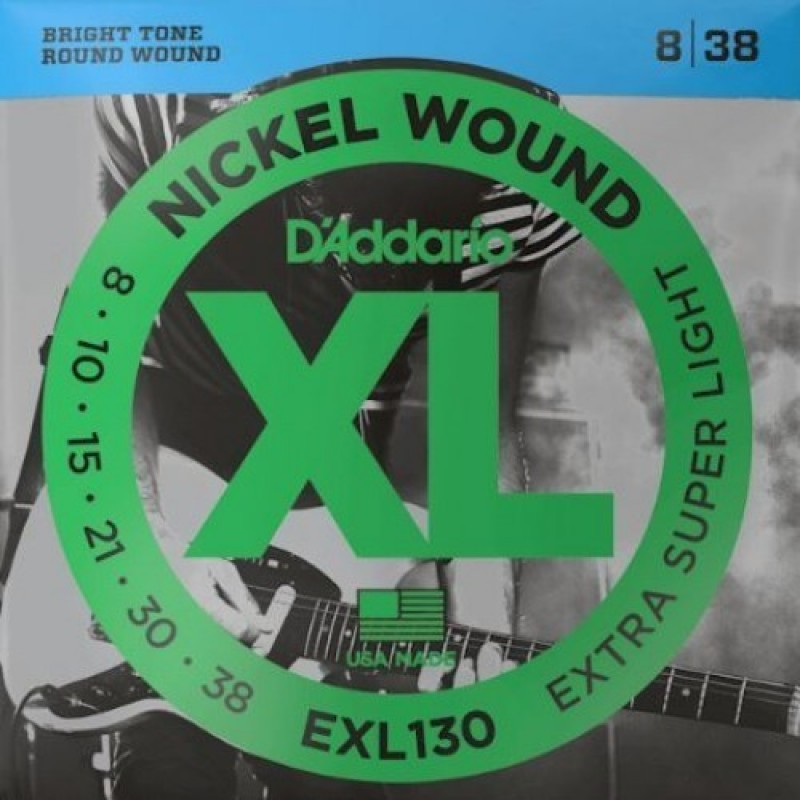 D'Addario EXL130 Electric Guitar String Set, Extra Super Light Gauge