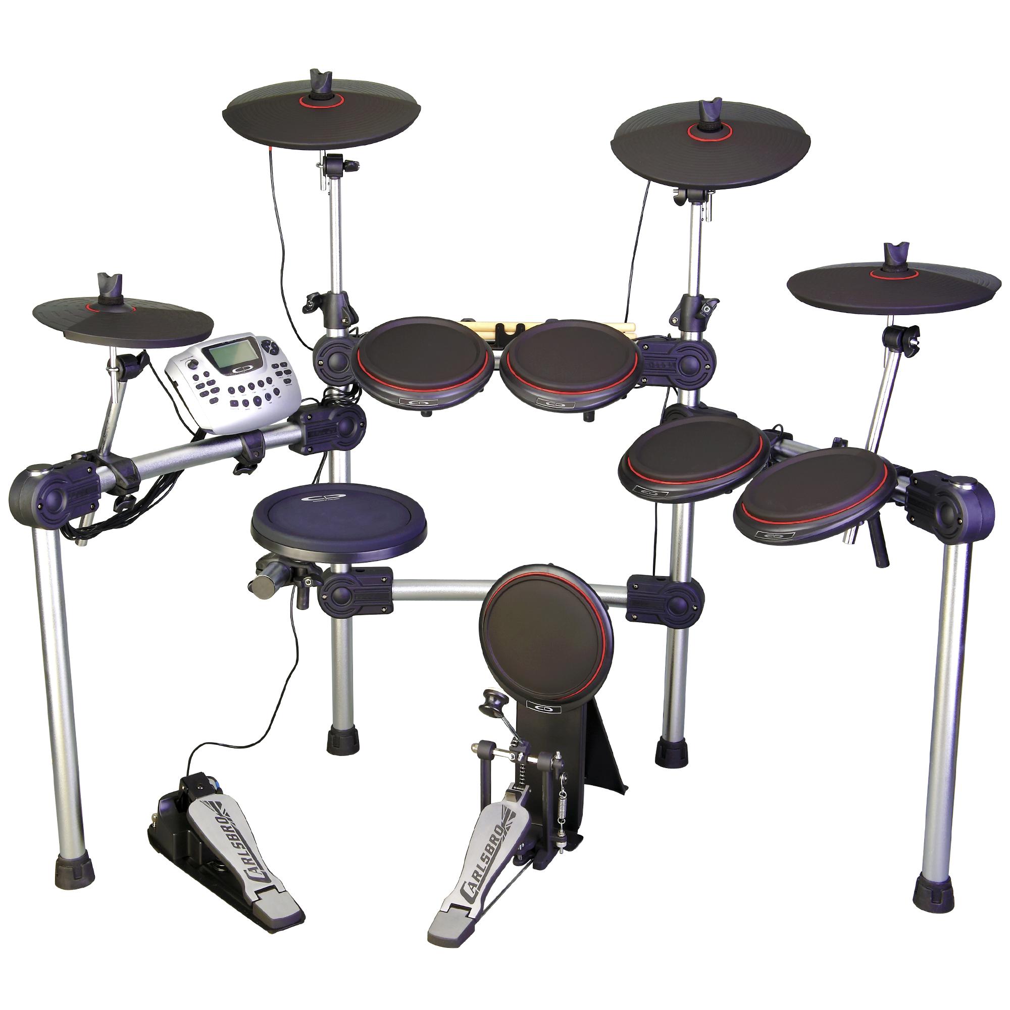 CARLSBRO CSD230 10 Piece Electronic Drum Kit