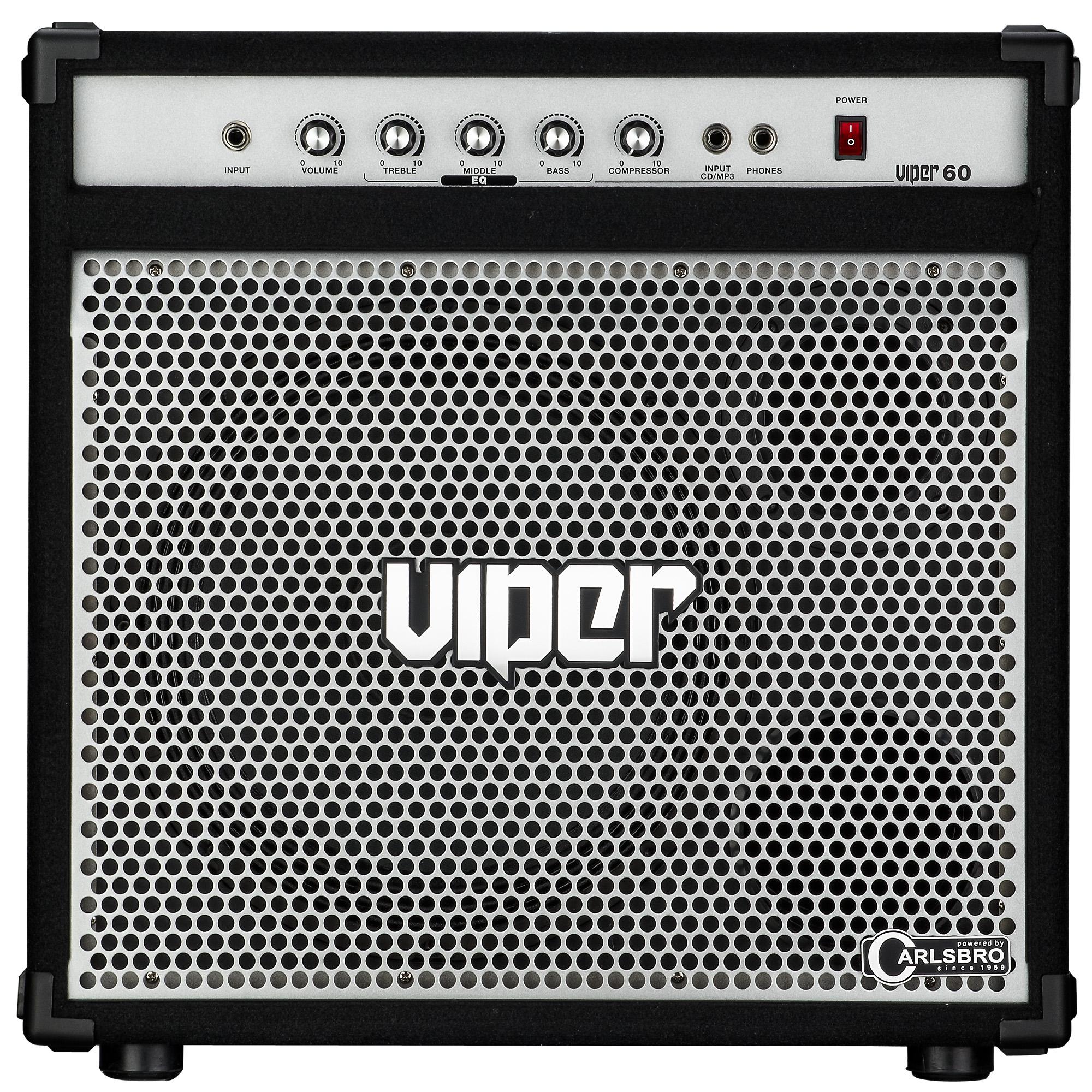 CARLSBRO VIPER60 60W Bass Amplifier Combo