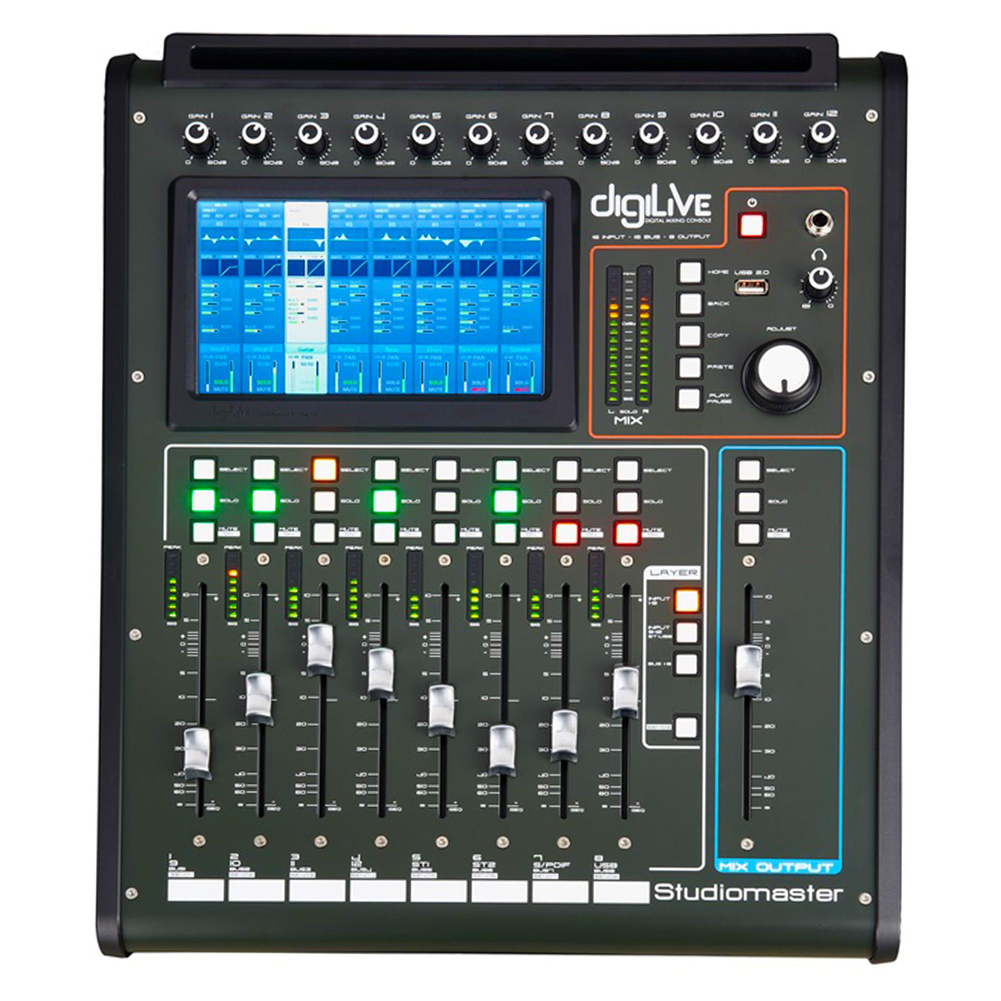 STUDIOMASTER digiLivE 16 20 Input Digital Mixing Console