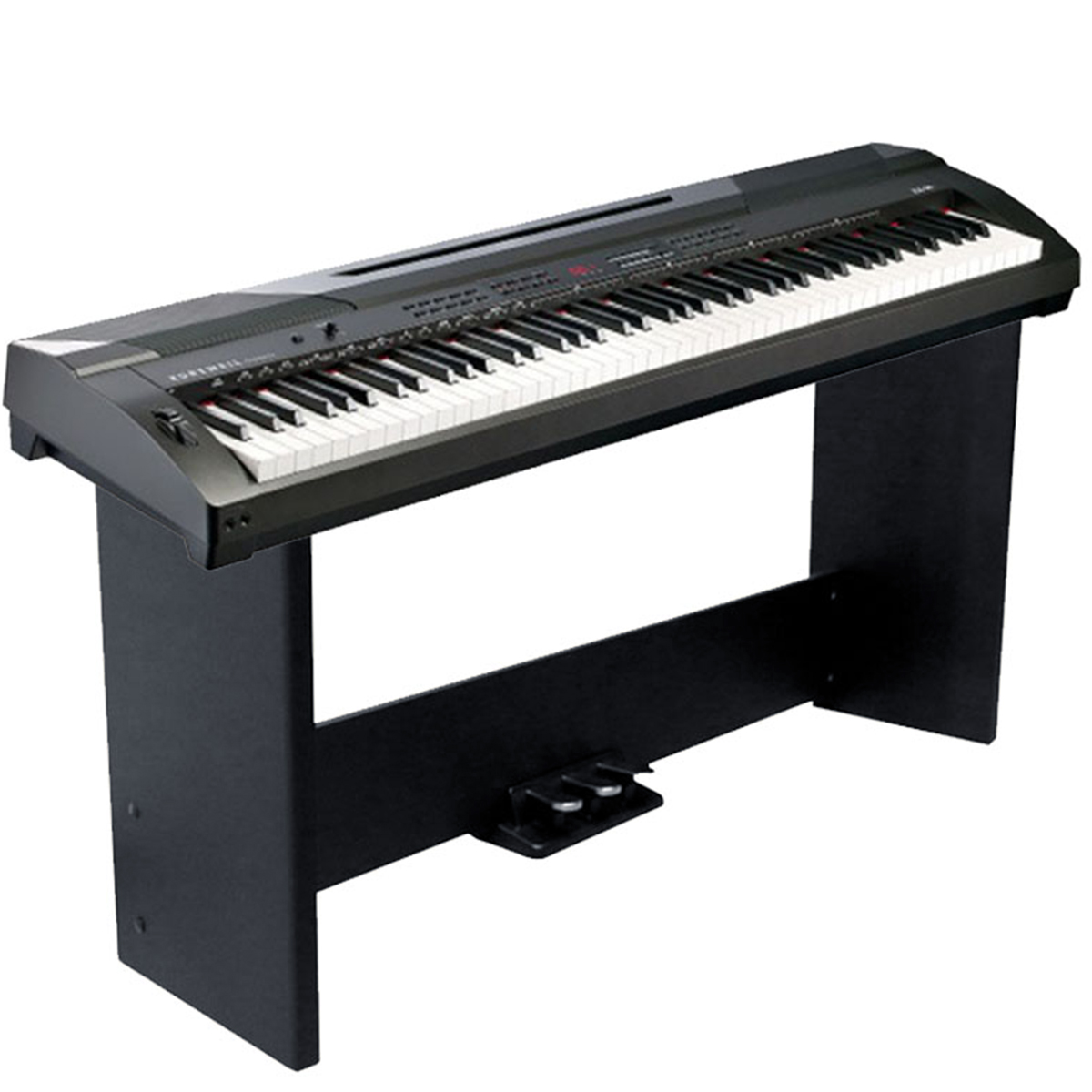 KURZWEIL KA90LB: Arranger Stage Piano With 88 Fully-Weighted Keys (Black)