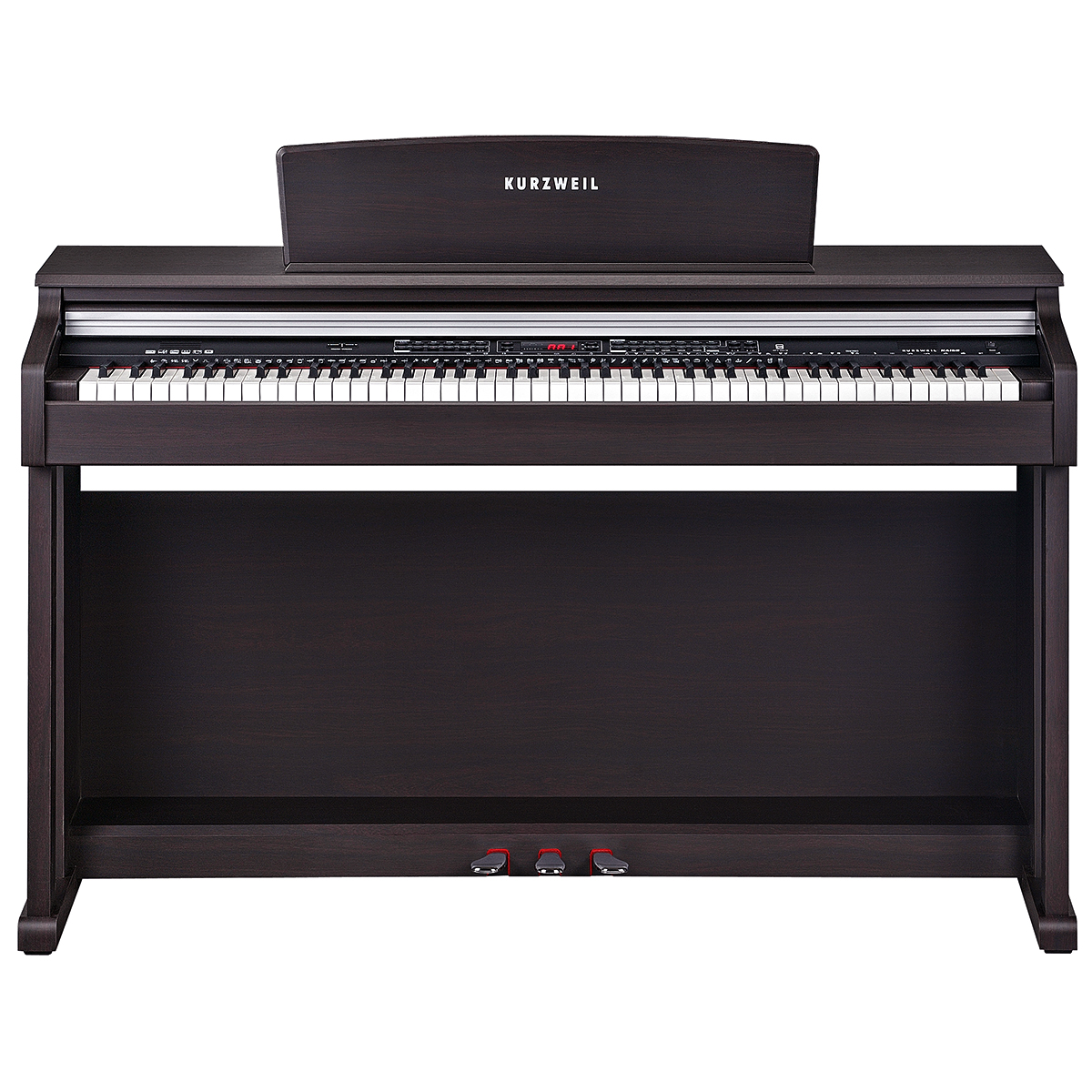 KURZWEIL KA150: 88 Fully-Weighted, Hammer Action Digital Piano (Rosewood)