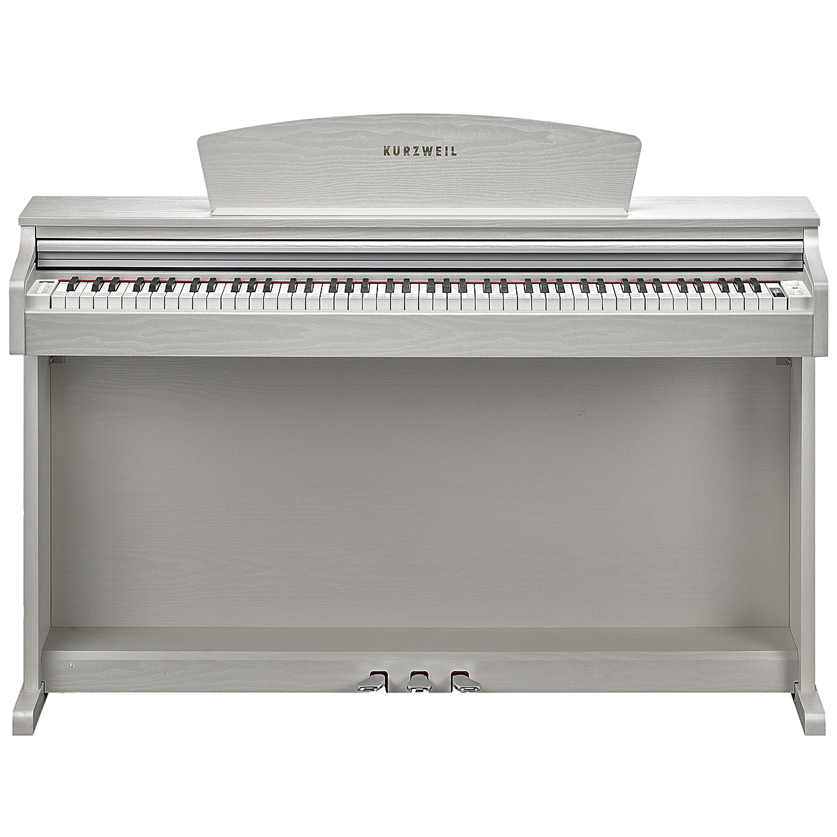 KURZWEIL M110WH: Fully-Weighted, 88 Note, Hammer-Action Digital Piano (White)