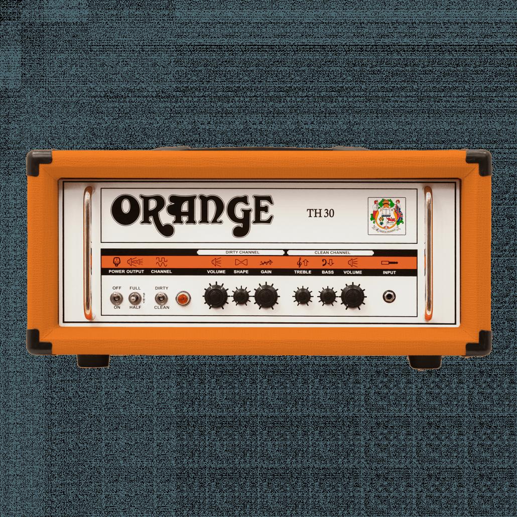 ORANGE TH30: 30W Twin Channel Valve Guitar Amp Head (ORANGE)