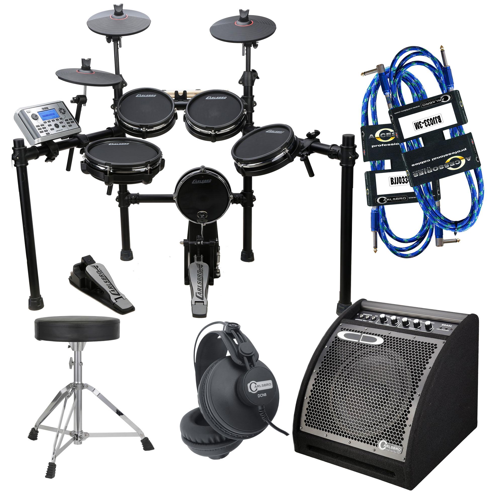 Carlsbro CSD400PK Electronic Drum Kit Package