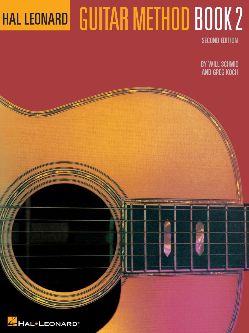 Hal Leonard Guitar Method Book 2 without CD.