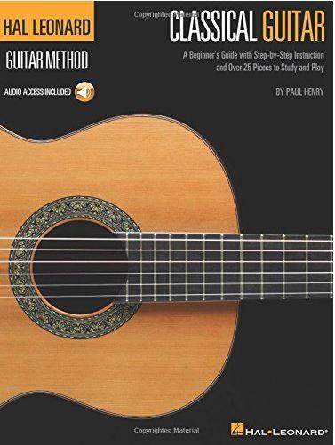 Hal Leonard Classical Guitar Method with Audio.