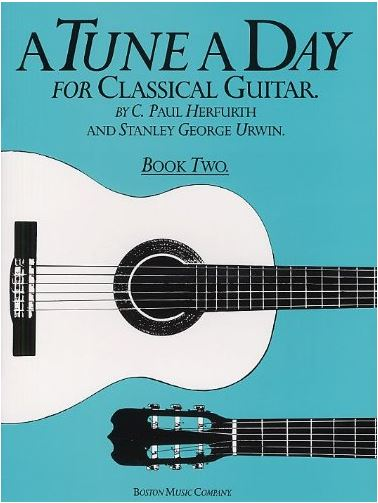 A Tune A Day for Classical Guitar Book 2.