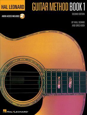 Hal Leonard Guitar Method Book 1 with CD and Audio