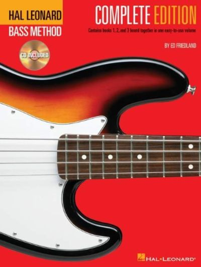 Hal Leonard Bass Method : Complete Edition w/audio