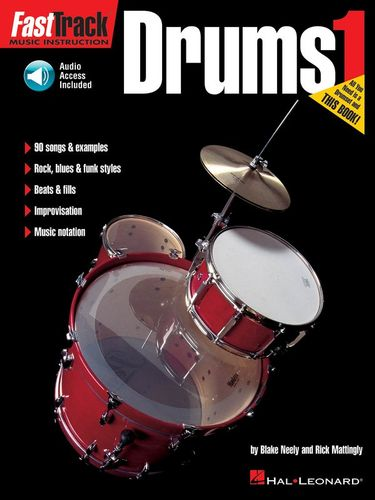 Fast Track : Drums - Book One with CD
