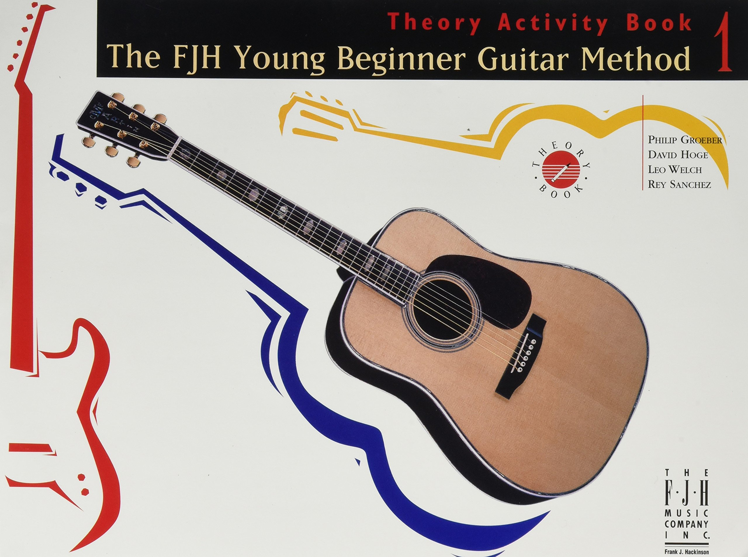 FJH Young Beginner Guitar Method, Theory Activity Book 1