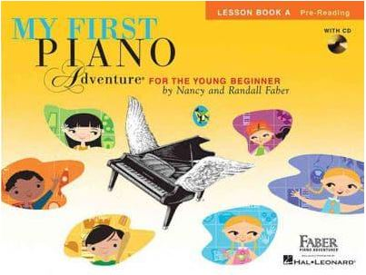 My First Piano Adventure - Lesson Book A Pre-reading with CD