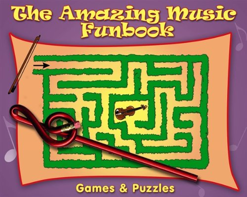 The Amazing Music Funbook plus Novelty Pencil