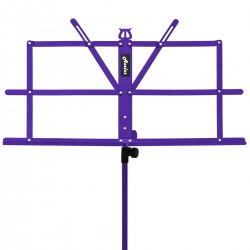 Axelos AXMS001PR: Light Weight Music Stand (Deep Purple)