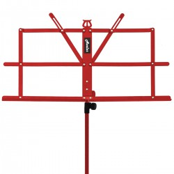 Axelos AXMS001RD: Light Weight Music Stand (Hot Chili Red)