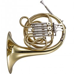 John Packer JP162: F Minor French Horn, Gold Lacquer