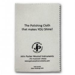 John Packer JP713SLCL: Silver Polishing Cloth For Brass/Woodwind Instruments