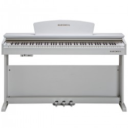 KURZWEIL M90WH: Fully-Weighted, 88 Note, Hammer-Action Digital Piano (White)