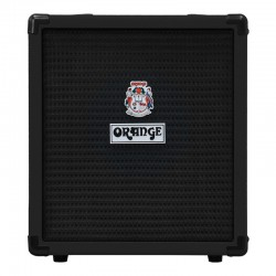 ORANGE CRUSH 25BX-BK: 25W Bass Guitar Amplifier Combo (BLACK)