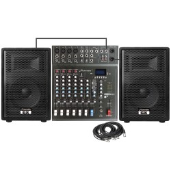 Studiomaster GX12APK 400 Watts RMS Complete PA System Combo