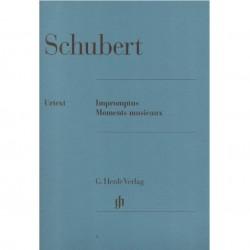 Schubert Impromptus Moments Musicaux