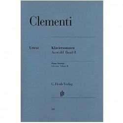 Clementi: Selected Piano Sonatas - Volume 2